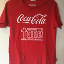 ゴセットテープロゴTシャツ(コーラ&テープ)
