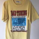 ゴセットテープロゴTシャツ(蛍光ブルー)