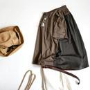 SACRA サクラ 異素材切替 ポケット付き 半袖Tシャツ プルオーバー