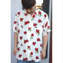 Black Weirdos  「Rose Skall Aloha Shirts」