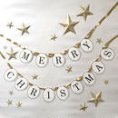 星付き★MERRY CHRISTMAS * Garland