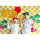 【最終受付】 おうち写真館 市松 Lサイズ(縦1030 × 横1456 mm)