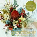 「ラウンドブーケ PASSION パッション」珍しいプリザーブドフラワーの花束