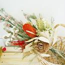 『大きな花束のプレゼントnatural red006』ギフトにも おしゃれなプリザーブドフラワー