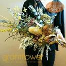「バーティカルブーケ ENERGY エナジー」珍しいプリザーブドフラワーの花束