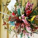 店主が気ままに作るオブジェ『welcome flower』フレーム 写真 飾り