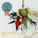 「クリスマス  RING RING リング リング」珍しいプリザーブドフラワーのスワッグ、花束