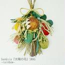 banksia『太陽の花』スワッグ ーrainbowー おしゃれな花のプレゼント 贈答品
