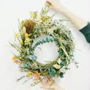 『ユーカリやバンクシアの ナチュラルリース green102』新築祝いなどのプレゼントにも