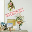 『スワッグと花束のセット natural pink 012018』ディスプレイやインテリアに 母の日プレゼントに