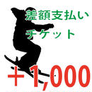 【差額クーポン】差額支払用クーポン+1000円