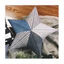 guffaw オリジナルスタークッション 45cm <Stripe and Denim>