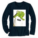 gurirubooth©️ Kermit  L / S  (Black )