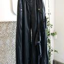 SHIROMA 17-18A/W Female punks nylon pants -black-