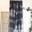 40%OFF!!!! SHIROMA 16S/S chase the unknown tulle flared pants -black-