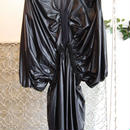 SHIROMA 16-17A/W DARK AGES nylon spindle dress -black-