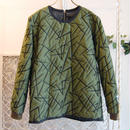 50%OFF!!! SHIROMA 16-17A/W DARK AGES embroidery quilting unisex hard top