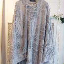 50%OFF!!! SHIROMA 15-16A/W ghost cape -gray-