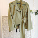 SHIROMA 16S/S chase the unknown tailored jacket -khaki-