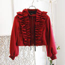 SHIROMA 17-18A/W Female punks frill riders Jacket