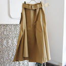 SHIROMA 18-19A/W CHURCH break up trench skirt