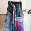 Yan na Maury mix blouson skirt 【2】