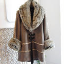 SHIROMA 17-18A/W Female punks fur coat