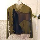 kotohayokozawa pleats tops -long sleeves-
