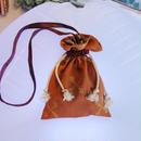 SHIROMA 17-18A/W Female punks shoulder bag -orange-