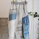 Yan na Maury mix blouson skirt 【5】