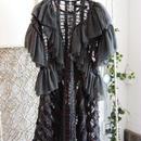 SHIROMA 17-18A/W Female punks Jacquard frill dress