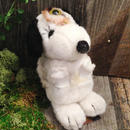 Heart of doll (ぬいぐるみ心臓リング)-monotone dog-