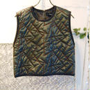 SHIROMA 16-17A/W DARK AGES embroidery quilting top