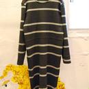 60%OFF!!! Yan na Maury chunky rib dress -gray-
