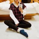 tweed  vestish  shirt