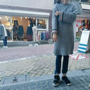 color line knit one piece