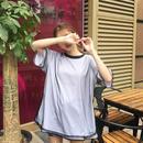 メッシュドッキングTシャツ ホワイト