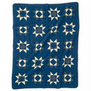 Patchwork Quilt Cover  NAVY  (140 × 180)