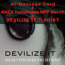 DEVILIZE IT <2CD + Photo Book> w/ Message Card, Anza Handmade HPP Merchandise & DEVILIZE IT T-SHIRT