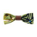 KIKKOU LEATHER/BOW TIE