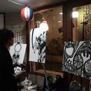 【リンク  イラストレーター】巧  TAKUMI  さん のライブペイント動画、作画風景・作品紹介です