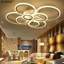 幾何学 LED ライト インテリア シーリングライト  癒し ランプ 天井 照明 シャンデリア リモコン付