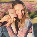 波筬(なみおさ)二つ折財布【307-1 ピンク 】