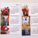 カレンダー2018(おはな&だいふく)