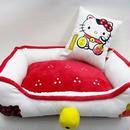 ハローキティ 招き猫ベッド 送料無料(北海道、沖縄を除く)