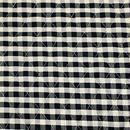 ギンガムチェックキルト 黒 【10cmあたり】