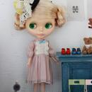 ふんわり袖 ワンピース (ピンク)キット