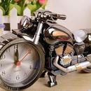 バイク型 置時計 クラシック風 インテリア レトロ かっこいい