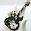 懐中時計 ギター型 レトロ クオーツアンティーク