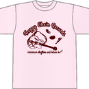 Happy Chain Records (featuring YURI&Aberei)Tシャツ「ピンク」